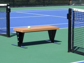 Sun Trends Inc Tennis Court Benches Shade Cabana Bench
