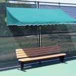 Fence Cabana with 8' Bench