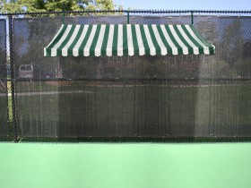 Sun Trends Inc Tennis Court Benches Amp Shade Cabana Bench